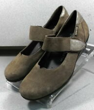 GIORDANA BROWN LMMS70 Women's Shoes Size 7 (EUR 4.5) Suede Mary Janes Mephisto