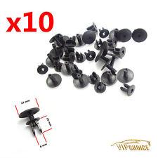 10X Plenum Push Type Nylon Clip Retainer Fastener For VW 1H0819055C01C