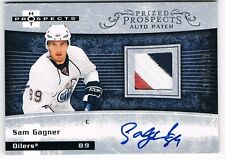 2007-08 HOT PROSPECTS ROOKIE PATCH AUTOGRAPH #202 SAM GAGNER /399 !! 3 COLOR