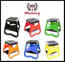 Motorcycle Racing Offroad Motocross Dirt Bike Stand stool all colors