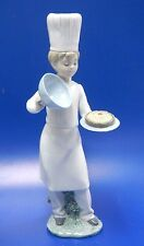 A Cake For You - Male Baker Boy Adorable Chef 2017 Figurine Nao By Lladro #1893