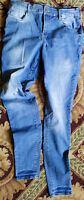Old Navy size 12 Tall stretch jeggings Jeans light wash ROCKSTAR skinny jeans