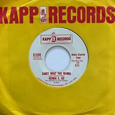 Northern Soul Mod R&B 45 GEORGE E. LEE Dance What You Wanna/Don't Let Him In mp3