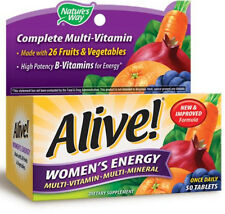 Alive! Women's Energy - 50 Tablets - Nature's Way