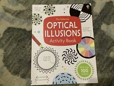 The Usborne Optical Illusions Activity Book With Over 100 Stickers By Sam Taplin