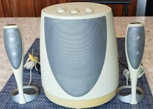Harmon Kardon Computer Subwoofer & Speakers Model HK695-01 -- Great Condition!