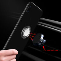 360° Finger Ring Holder Stand Grip Accessories For Cell Phone Car Magnetic Mount