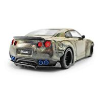 New 1/64 MINI-GT Nissan Skyline LB Works GTR R35 MAGIC Grey LIMITED DIECAST CAR