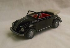 Wiking Germany 1:40 Volkswagen Beetle Convertible Kafer Cabriolet Black