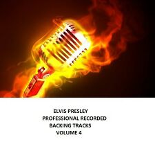 ELVIS PRESLEY PROFESSIONAL RECORDED BACKING TRACKS VOLUME 4