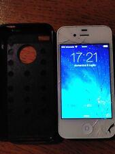 iPhone 4 - 16GB Bianco - Usato con vetro touch scheggiato e funzionante 100%