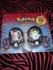 Togepi and Mew  Fun Keychain 2 Pack Pokémon Figures