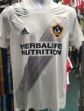 Adidas LA galaxy Home Jersey 2020 White Grey Stadium Cut Size 2XL Men's Only
