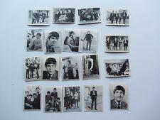 The Beatles 19 Original 1963 Reino Unido tarjetas de los Beatles Bubble Gum