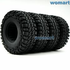4pcs New RC Crawler Soft 1.9'' Tires OD 115mm w/ Foam Fit for 1.9 beadlock Rims