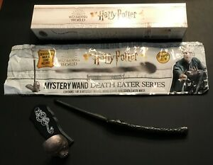 Death Eater-Bellatrix Lestrange-Special Edition Harry Potter Mystery Wand (NEW)
