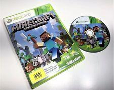MICROSOFT XBOX 360 GAME | MINECRAFT | PAL