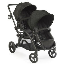 Contours 2017 Options Elite Tandem Stroller in Black Carbon Brand New!!
