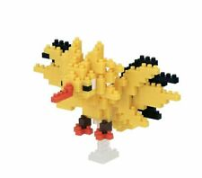 Nanoblock Pokemon ZAPDOS - NBPM046 - Level 4 - 210 Parts, Box, NEW