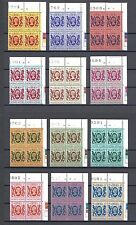 HONG KONG 1982 SG 415/487 MNH Blocks of 4 Cat £240