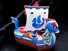 Fisher Price IMAGINEXT Royal Ship Adventures Sail Boat 2006.J8214 Viking Dragon