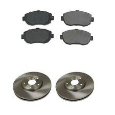 Front Brakes Disc Rotors And Brake Pads Kit Brembo / OPparts for Lexus