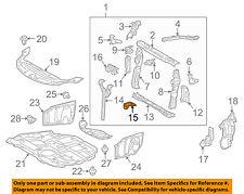 53117-72010 Toyota Bracket, radiator grille, lower 5311772010, New Genuine OEM P