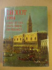 Drouot 1994 - L'art et les enchères en France