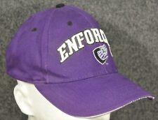 Vintage XFL Chicago Enforcers Football League Purple Adjustable Strap Hat Cap