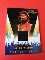BRIAN WILSON THE BEACH BOYS SINGER CONCERT WORN RELIC MEMORABILIA CARD MUSIC