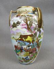 "Stunning vintage NORITAKE porcelain FLOWER VASE. Hand painted. 5.75"""