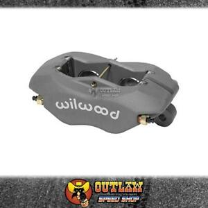 WILWOOD FORGED BILLET DYNALITE 4 PISTON LUG MOUNT BRAKE CALIPER - WIL1206818