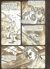 Planet of the Apes #16 p 2 - Going Back for Answers - 1991 art by M.C. Wyman