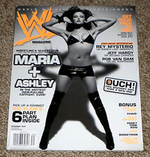 WWE MAGAZINE November 2006 MARIA KANELLIS Cover NO LABEL