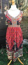 Joe Browns Floral Dress - With Beading Detail - UK 16 - Stunning - Sleeveless