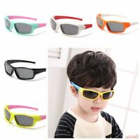 Girls Boys Kids Toddler Sporty UV400 Polarized Sunglasses Cycling Outdoor Shades