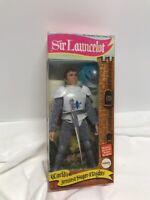 "Mego 8"" 1975 WGSH Super Knights Sir Launcelot Lancelot Boxed"
