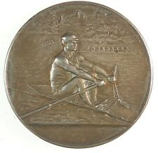 France rowing boat CLUB NAUTIQUE DE NICE silver 47mm by Frederic Vernon