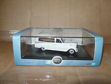Oxford APH002 1/43 O Scale Austin Princess Sheerline White Hearse Funeral