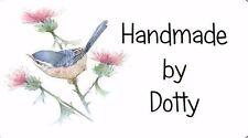 Etiquetas Personalizadas Mini Pegatinas X 65-hecho a mano por-Bird & Cardo