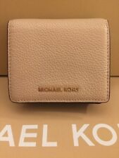MICHAEL KORS MERCER CARRYALL LEATHER CARD CASE IN OYSTER,NWT-FREESHIP