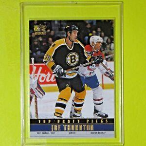 "JOE THORNTON 2001-02  ""TOP DRAFT PICKS"" Pacific #4  Boston Bruins"