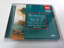 "FRANK PETER ZIMMERMANN ""BEETHOVEN CONCERTO POUR VIOLON N 1 & 2"" CD 5 TRACKS"