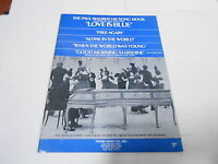 1968 (NOS) LOVE IS BLUE - PAUL MAURIAT vintage music song book