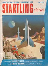 Startling Stories Fall 1954 - F. L. Wallace Novelette, George O. Smith Novella