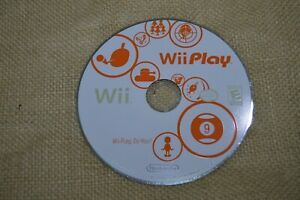 Wii Play Nintendo Wii 2007 Disk Only