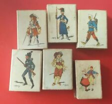 "Lot of 6 SPAIN  Vintage Match Boxes Collectible ""NATIONAL CLOTHES """