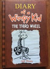 Diary of a Wimpy Kid: The Third Wheel by Jeff Kinney (2012, Hardcover) s#6531