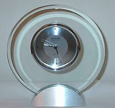 Danbury Silver Toned Quartz Clock from Things Remembered in Perfect Condition