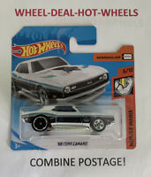 HOT WHEELS 2019 MUSCLE MANIA '68 COPO CAMARO SHORT CARD MOC!